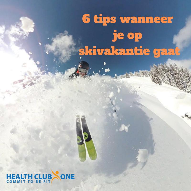 6 tips voor als je op skivakanti